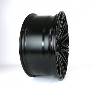 Twin-Monotube glanz schwarz