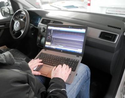 PCM Powerchip Modul Kalibrierung in Echtzeit