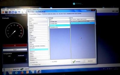 PCM-Zusatzmodul Software